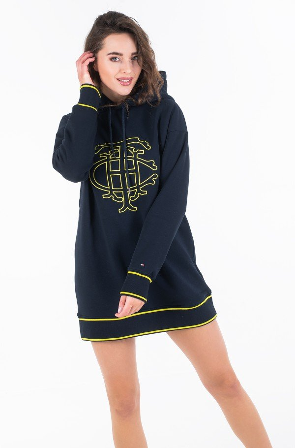 PERRY HOODED DRESS