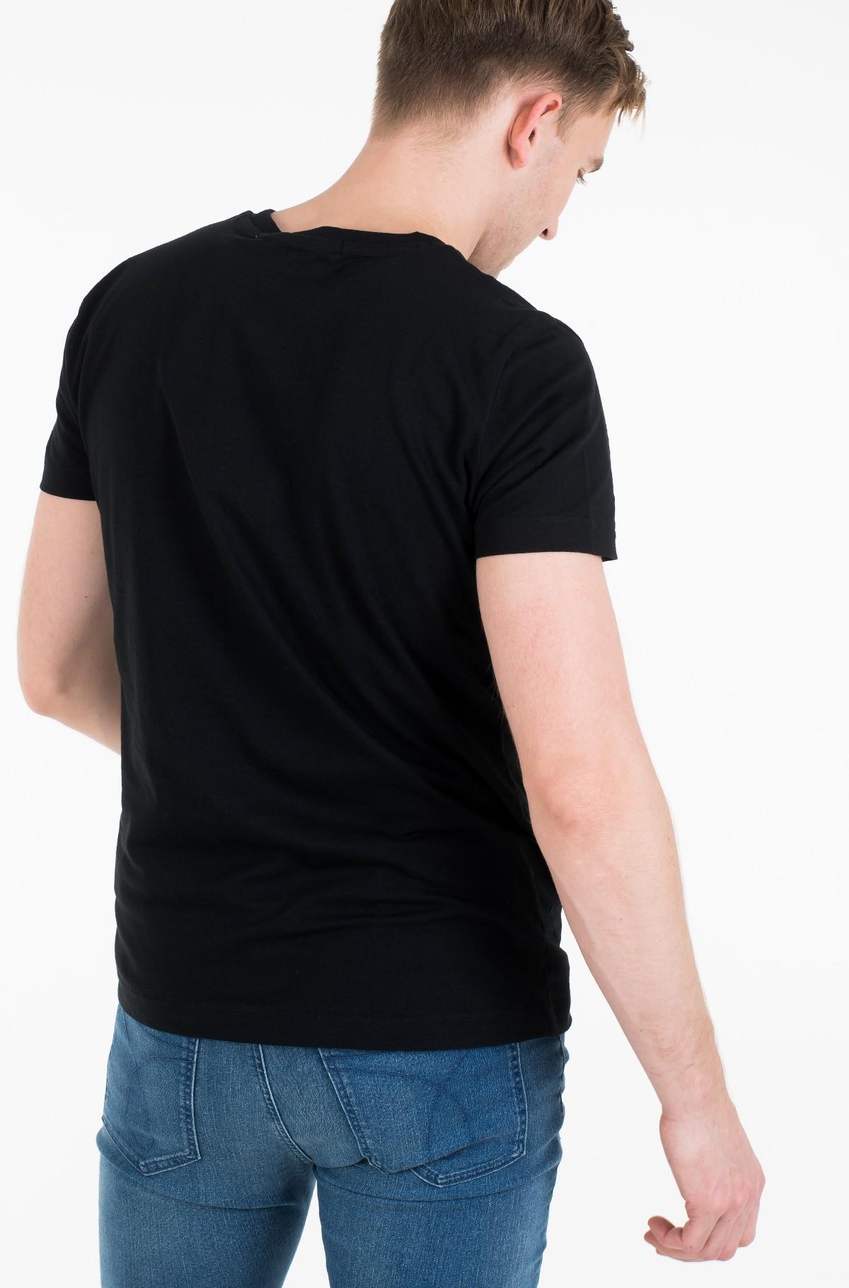 Marškinėliai MONOGRAM LOGO SLIM TEE-full-3