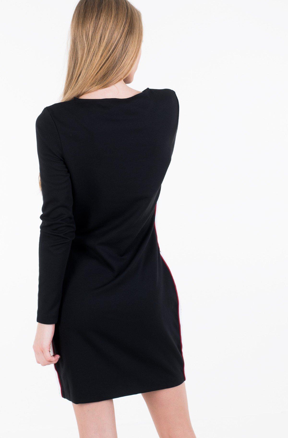 Suknelė VELVET MOCK NECK DRESS-full-3