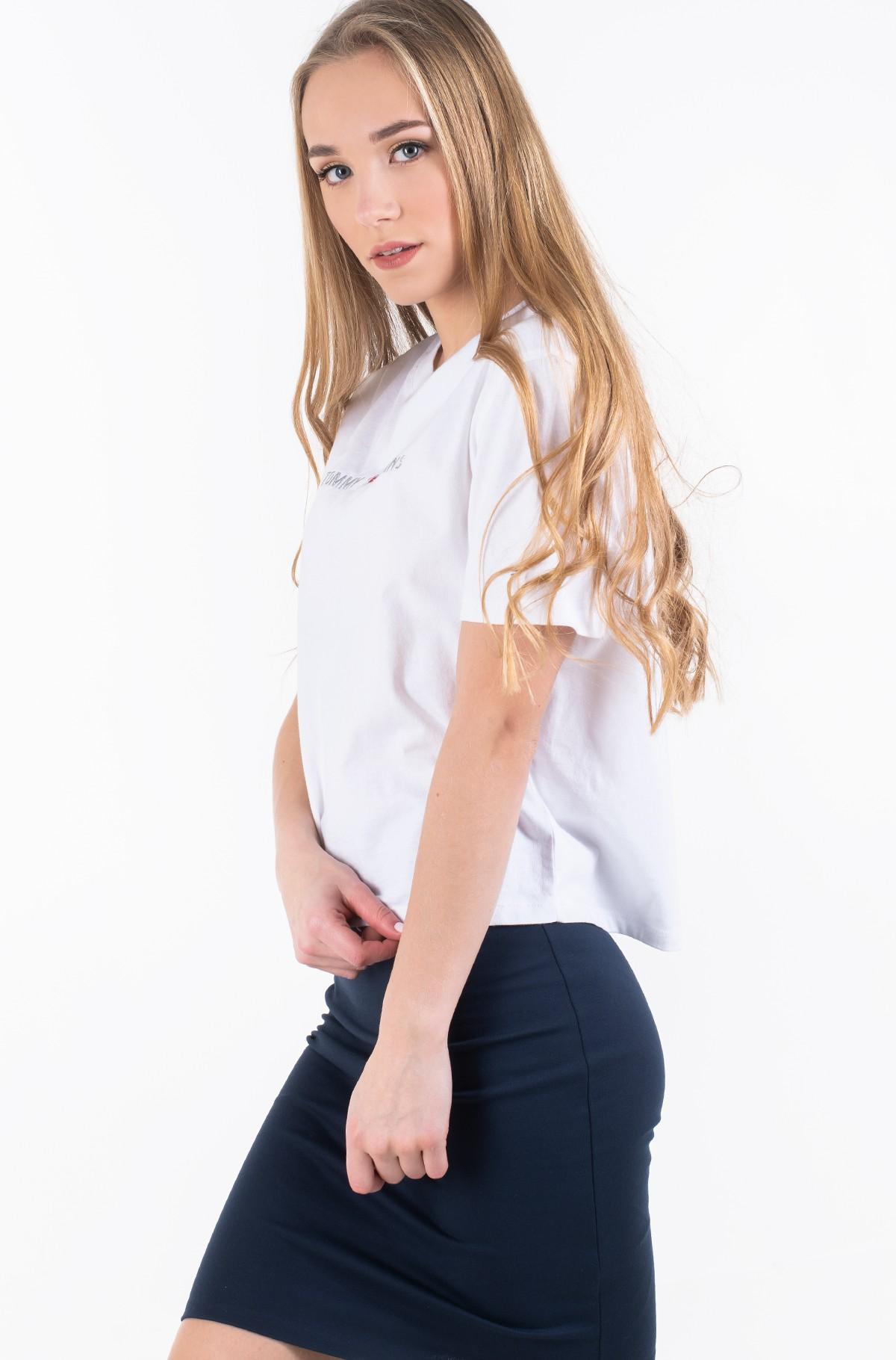 Marškinėliai TJW LINEAR LOGO DETAIL TEE-full-1