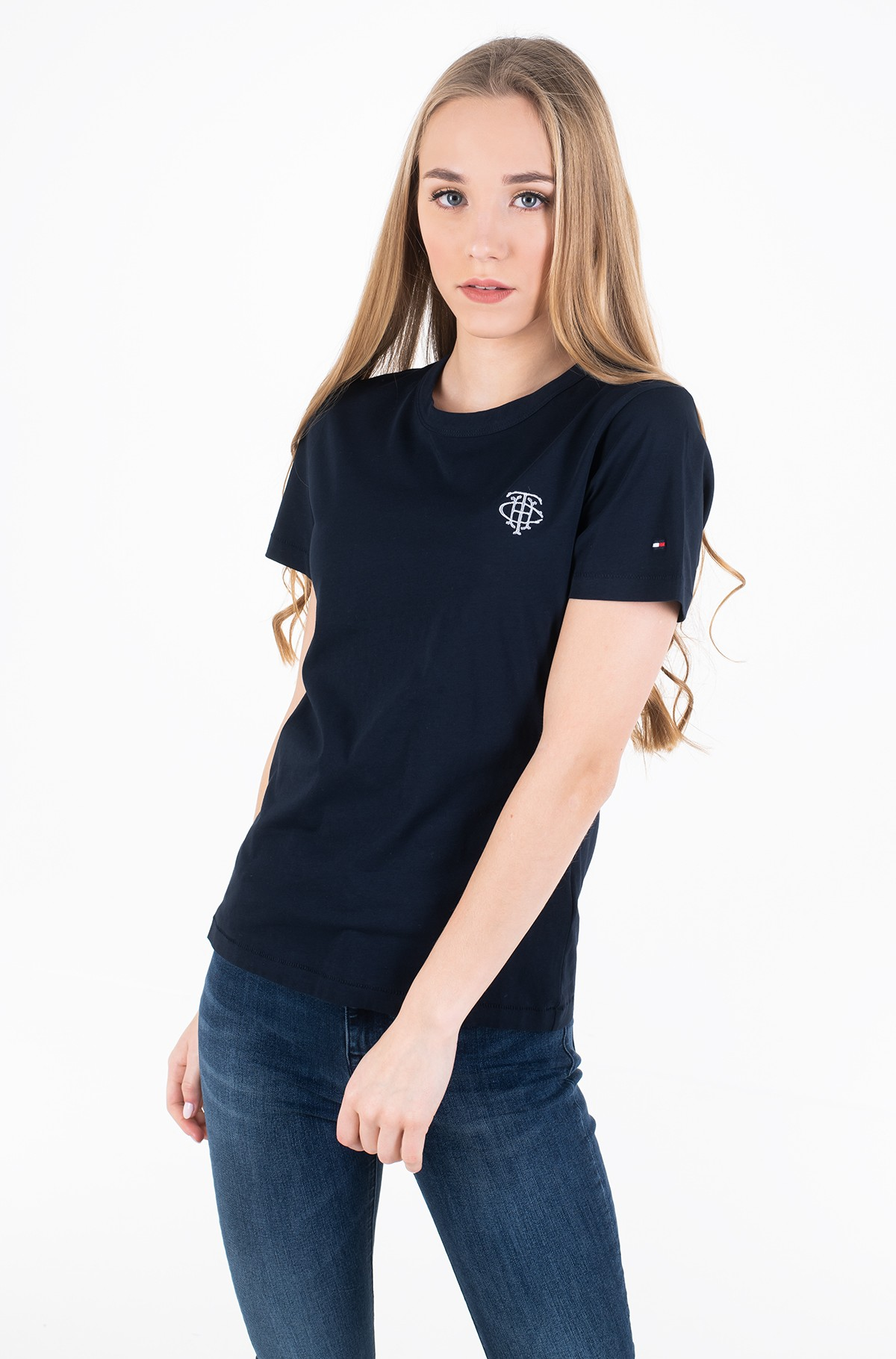 T-shirt NEW TH ESS EMBROIDERY TEE SS-full-1