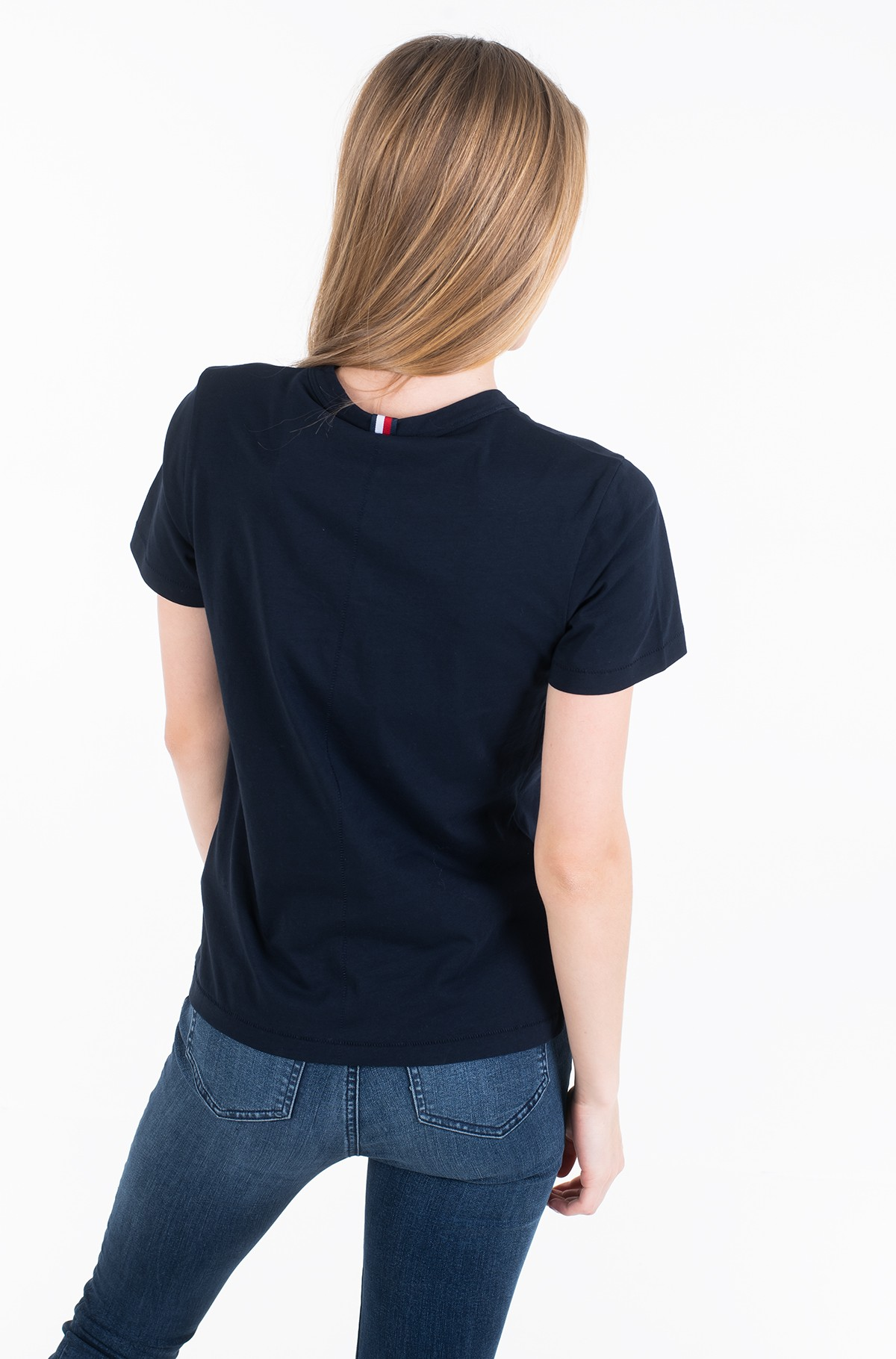 T-shirt NEW TH ESS EMBROIDERY TEE SS-full-2