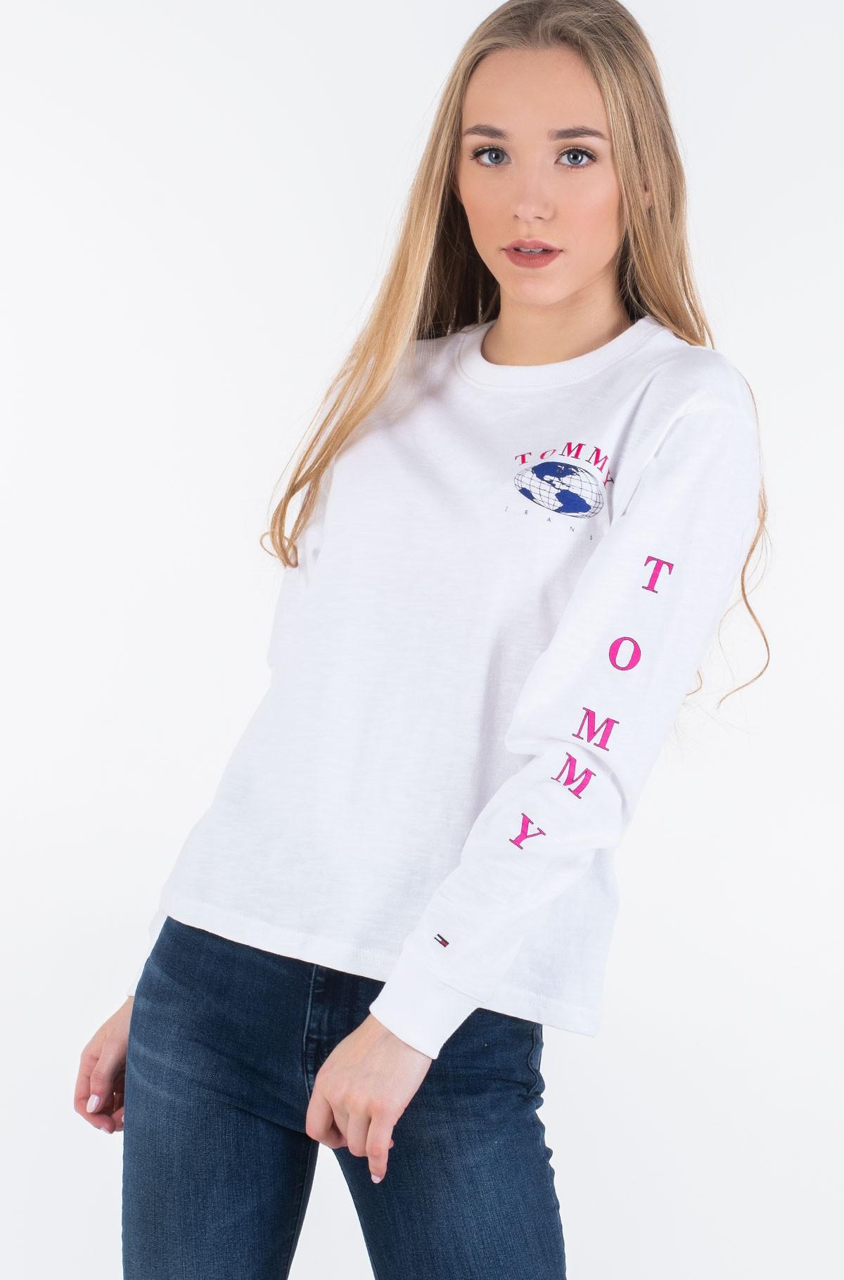 Long sleeved t-shirt TJW TOMMY GLOBE LONGSLEEVE-full-2