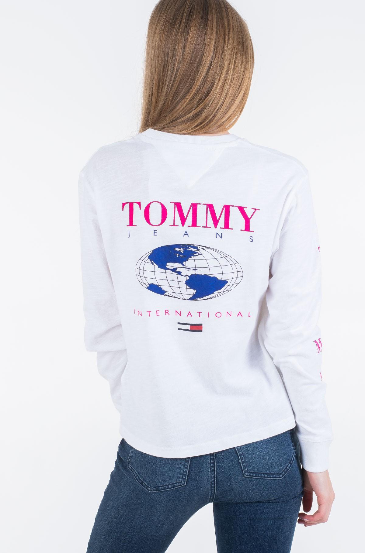 Long sleeved t-shirt TJW TOMMY GLOBE LONGSLEEVE-full-3
