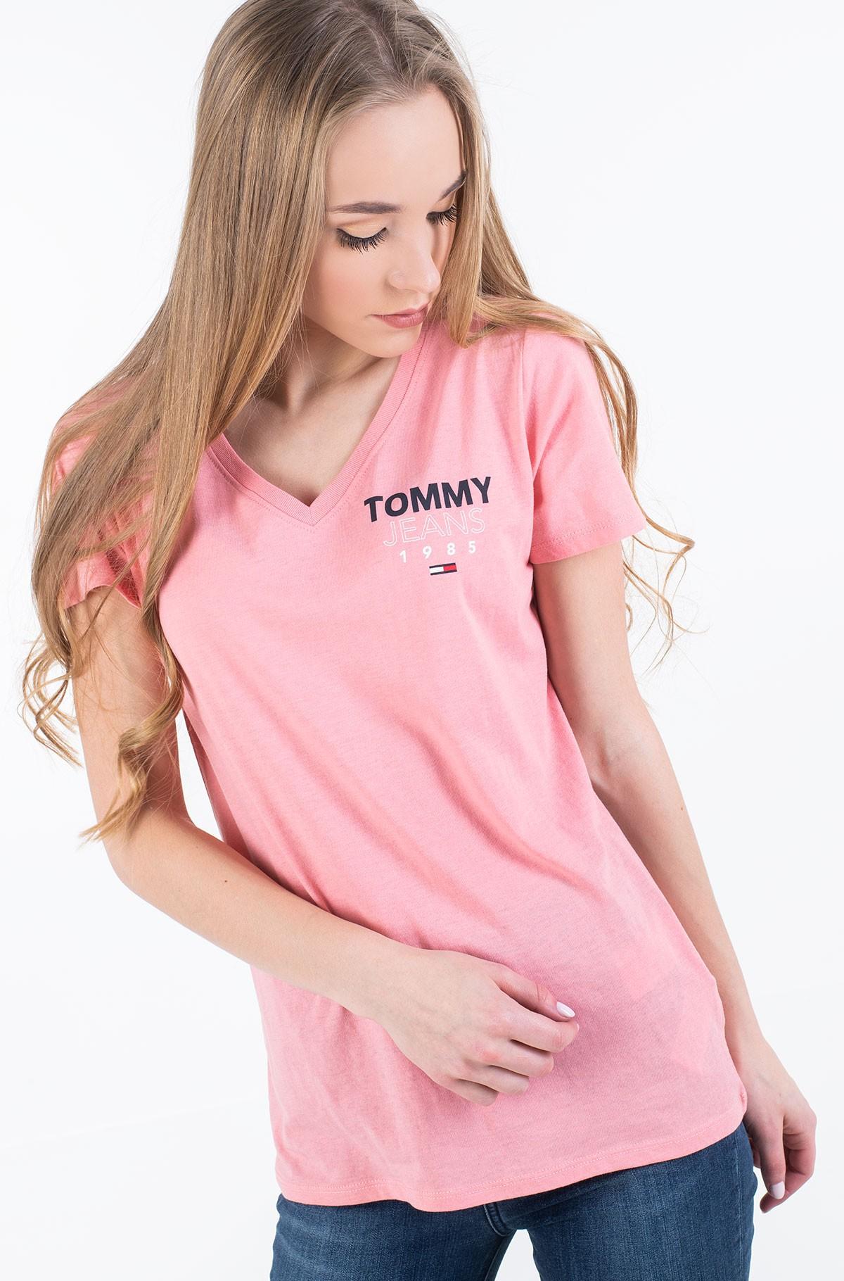 Marškinėliai TJW ESSENTIAL V-NECK LOGO TEE-full-1