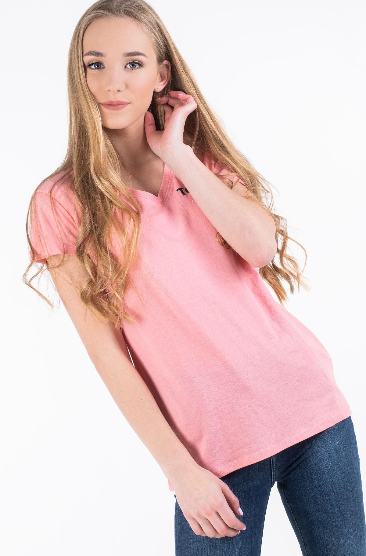 Marškinėliai TJW ESSENTIAL V-NECK LOGO TEE-full-2