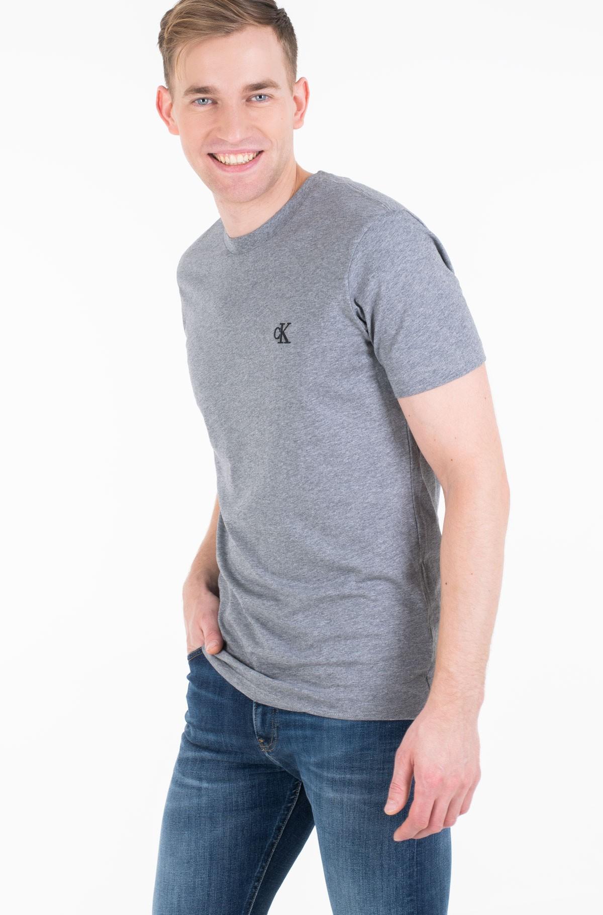 Marškinėliai CK ESSENTIAL SLIM TEE-full-1