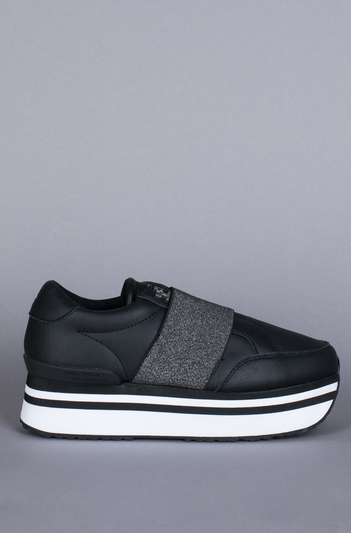 Sneakers ELASTIC SLIP ON FLATFORM SNEAKER-full-1