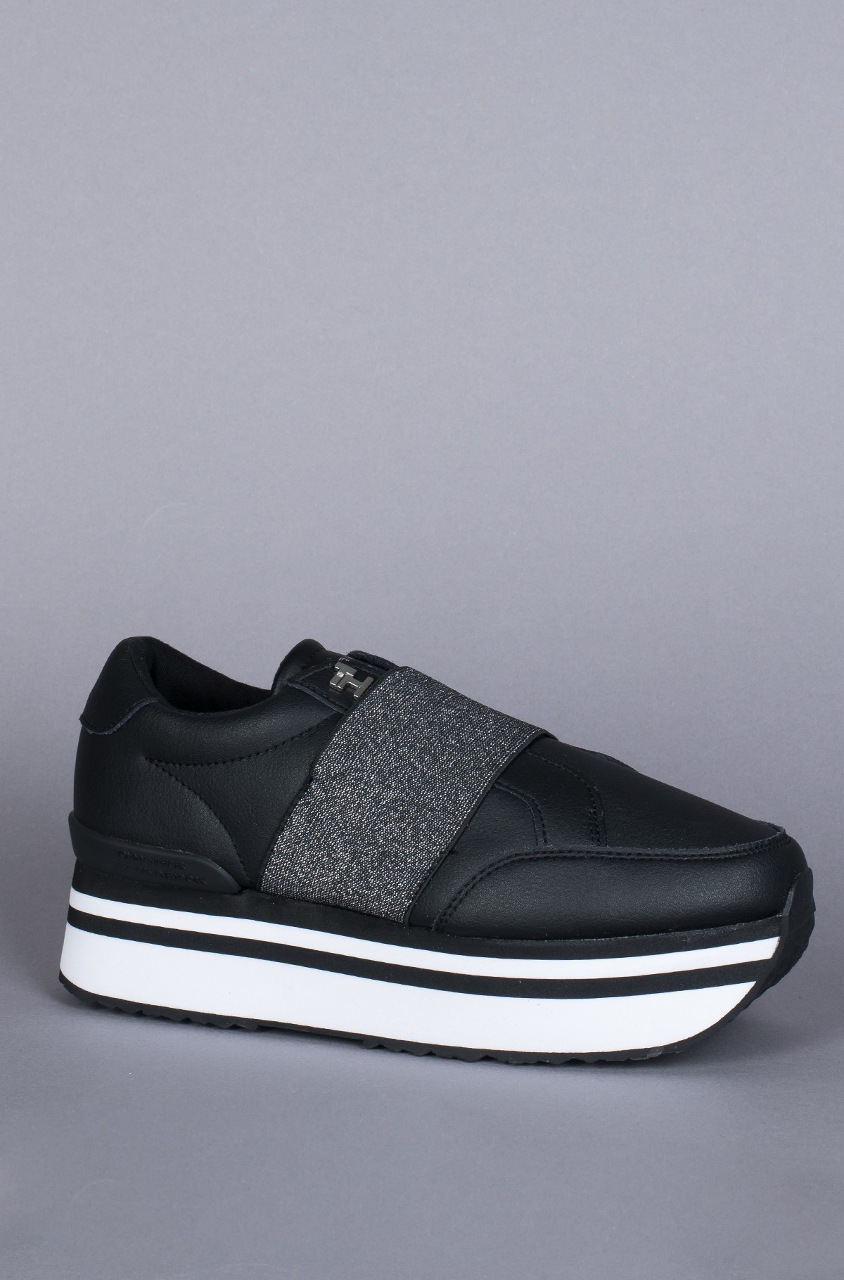 Sneakers ELASTIC SLIP ON FLATFORM SNEAKER-full-3