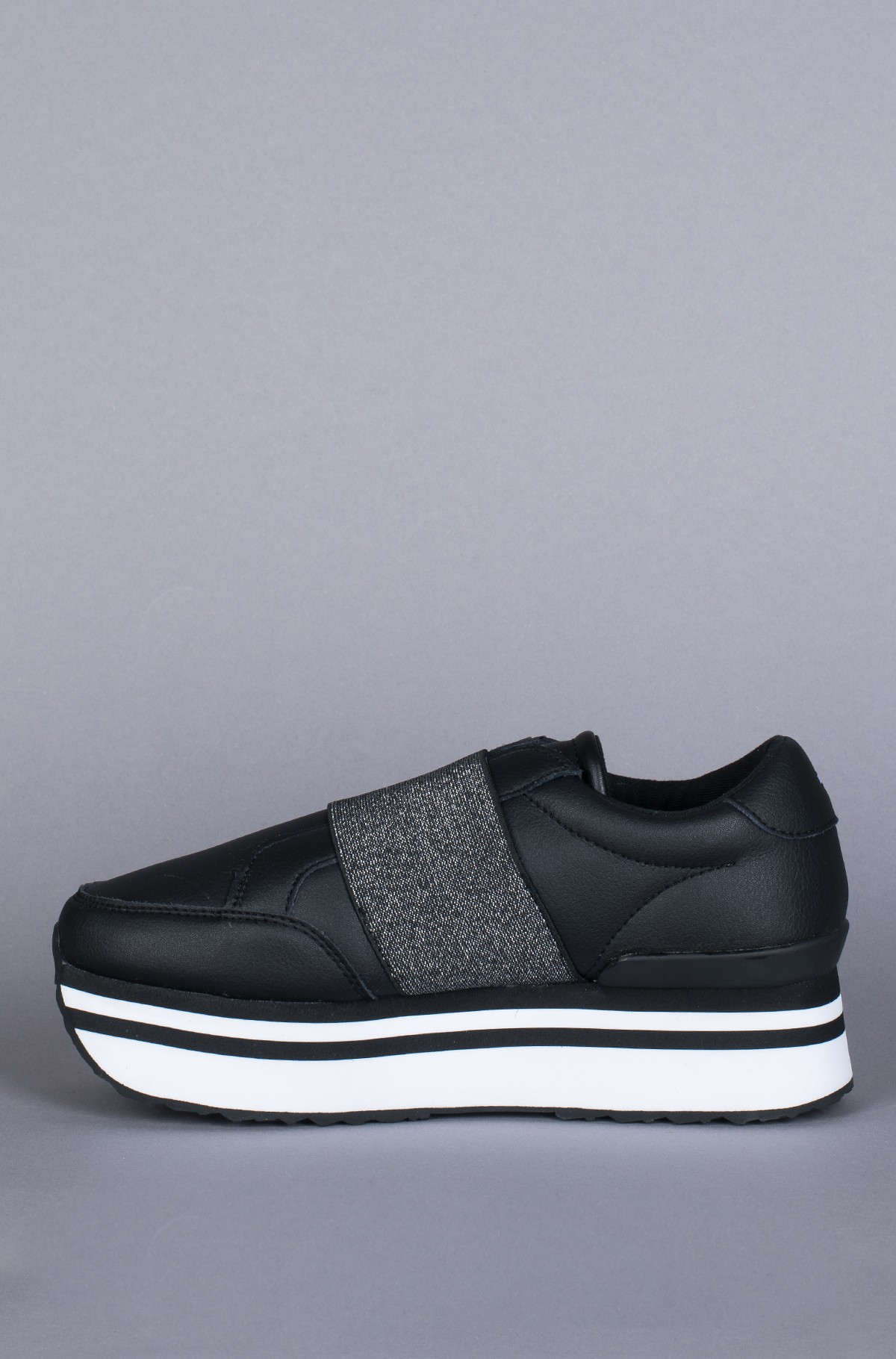 Sneakers ELASTIC SLIP ON FLATFORM SNEAKER-full-4
