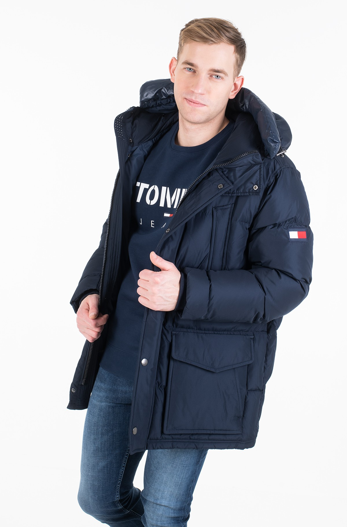 Striukė TOMMY HOODED PARKA-full-1
