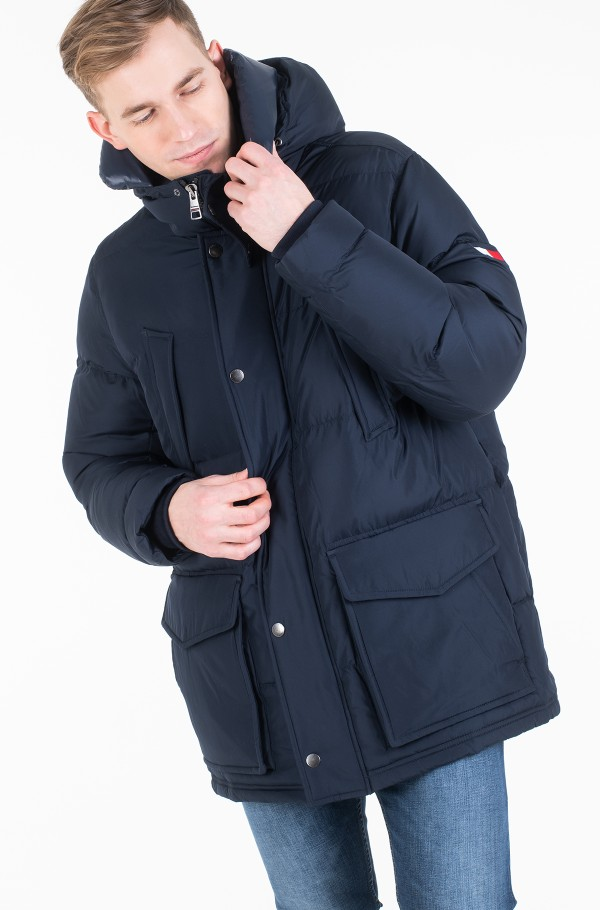 TOMMY HOODED PARKA-hover