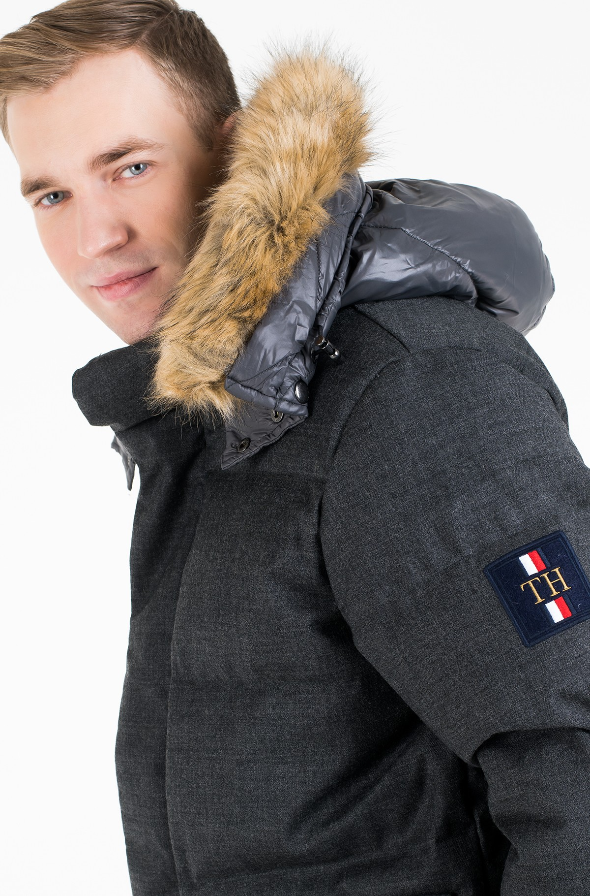 Jope ICON TECH PUFFER JACKET-full-2