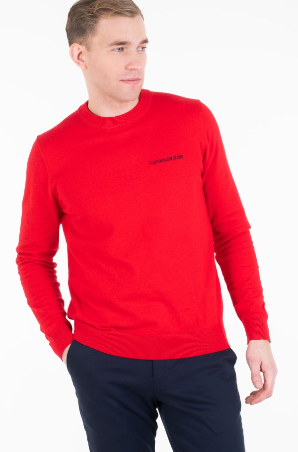 INSTIT CHEST LOGO CN SWEATER-hover