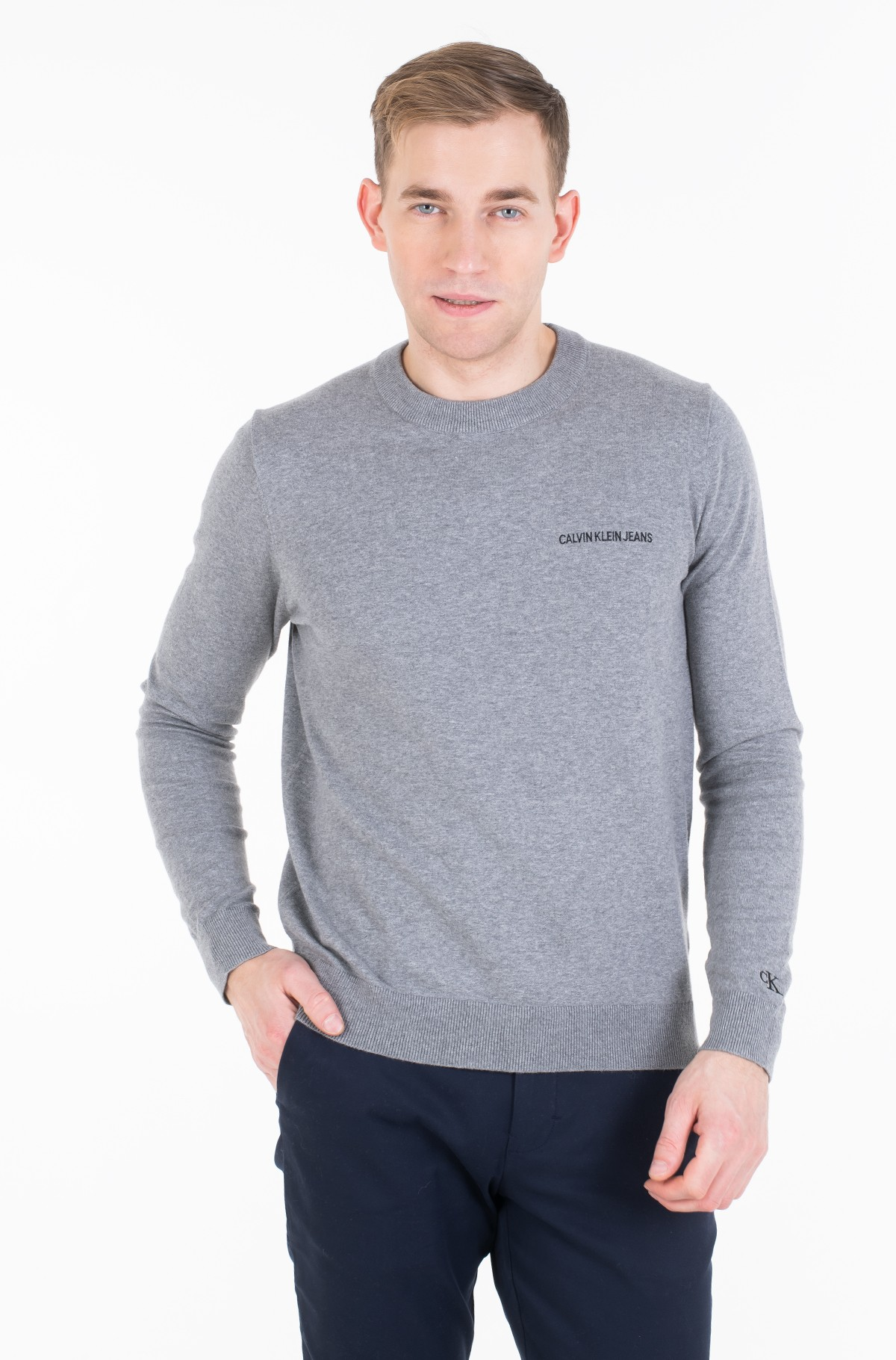 Džemperis INSTIT CHEST LOGO CN SWEATER-full-1