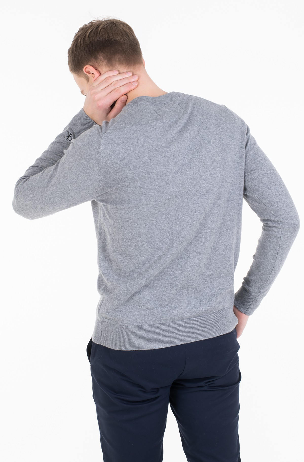 Džemperis INSTIT CHEST LOGO CN SWEATER-full-3