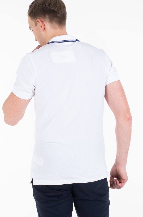 CK ESSENTIAL TIPPING SLIM POLO-hover
