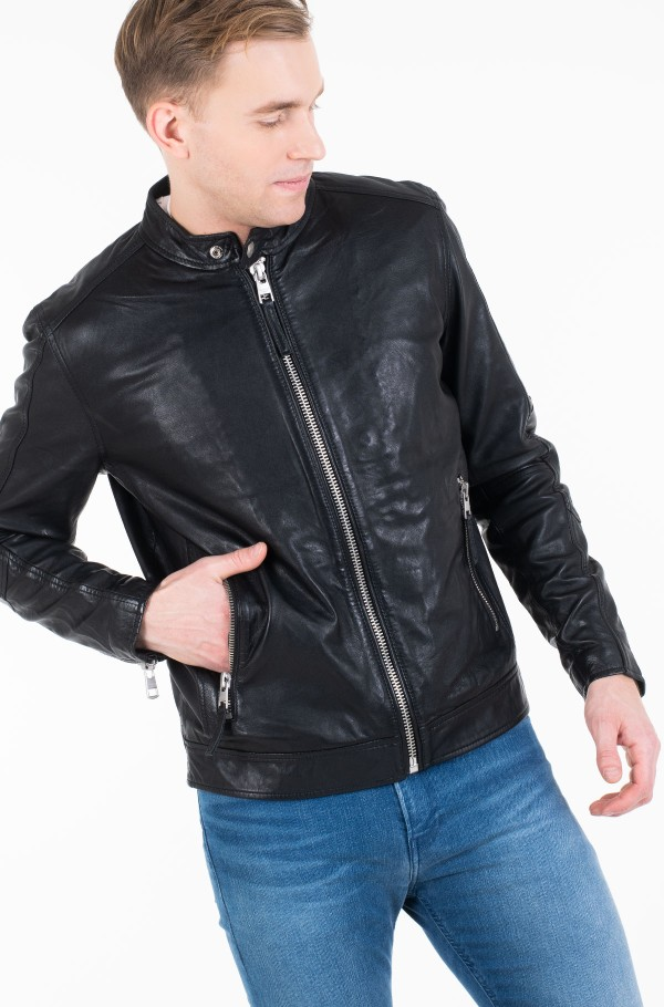 SIMPLE RACER JACKET-hover
