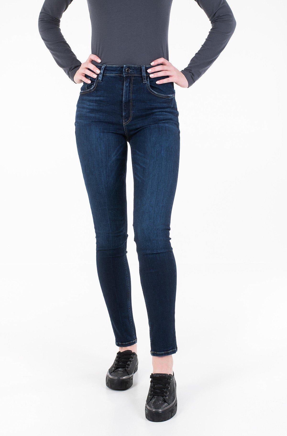 Džinsinės kelnės W01A26 D38R5-full-1