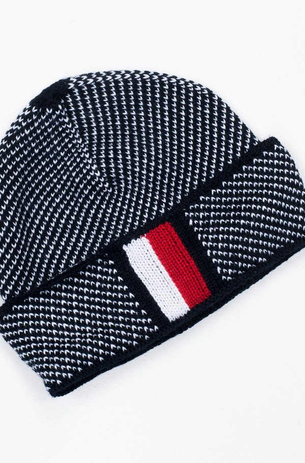 CORPORATE INTARSIA BEANIE