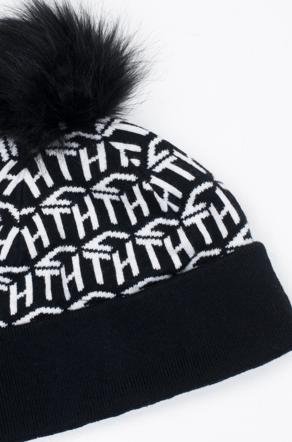 TH CUBE KNIT BEANIE-hover