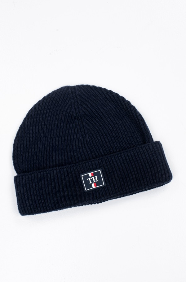 TH PATCH KNIT BEANIE