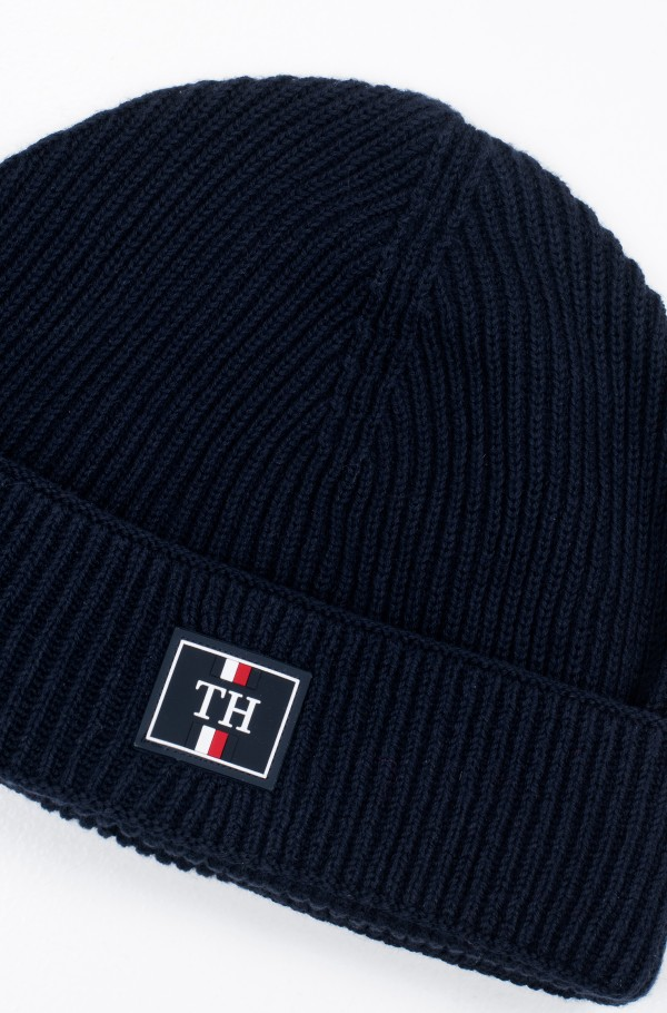 TH PATCH KNIT BEANIE-hover