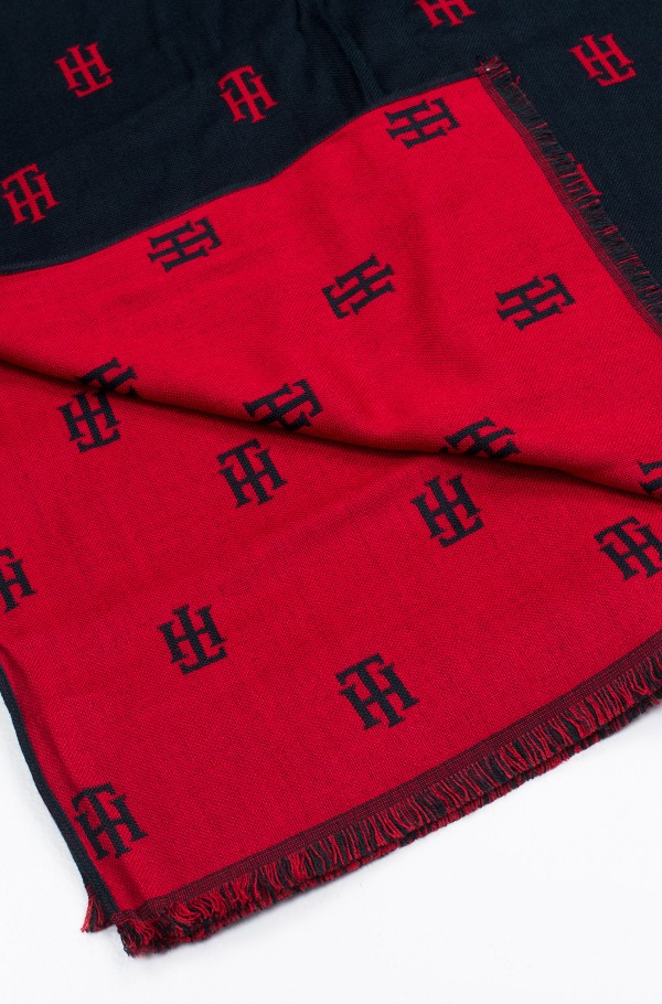 TH JACQUARD SCARF-hover