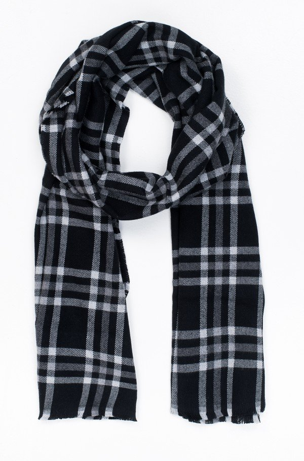 TAILORED CHECK SCARF-hover