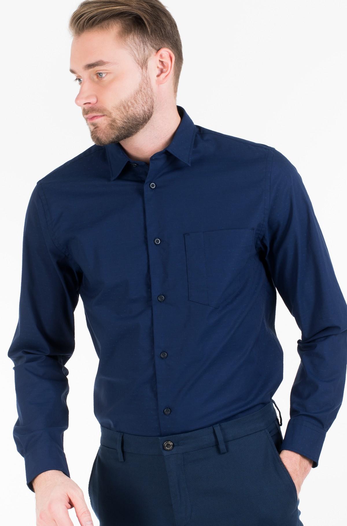 Shirt FLEX INDIGO FEEL DOBBY SHIRT-full-1