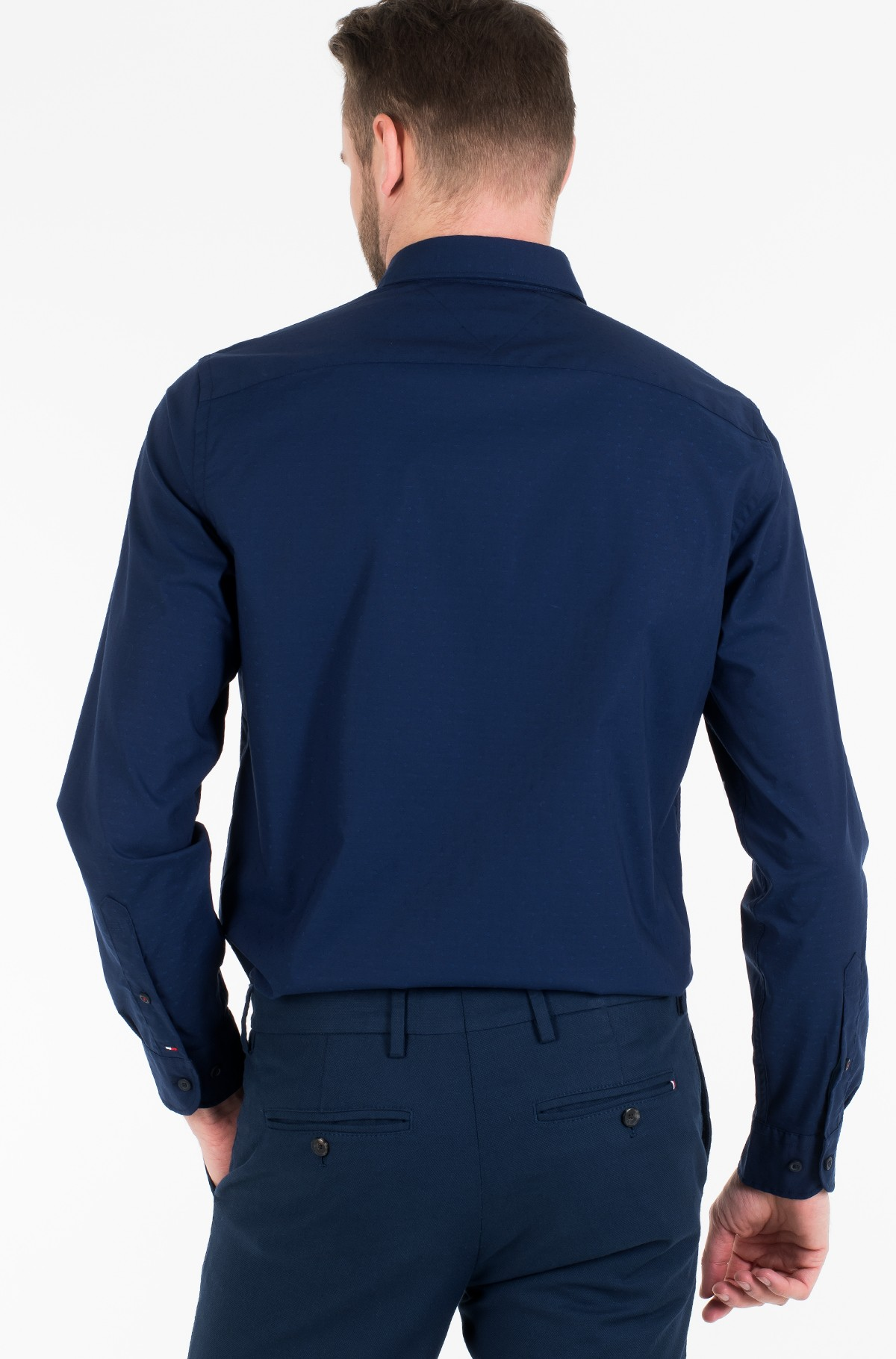 Shirt FLEX INDIGO FEEL DOBBY SHIRT-full-3