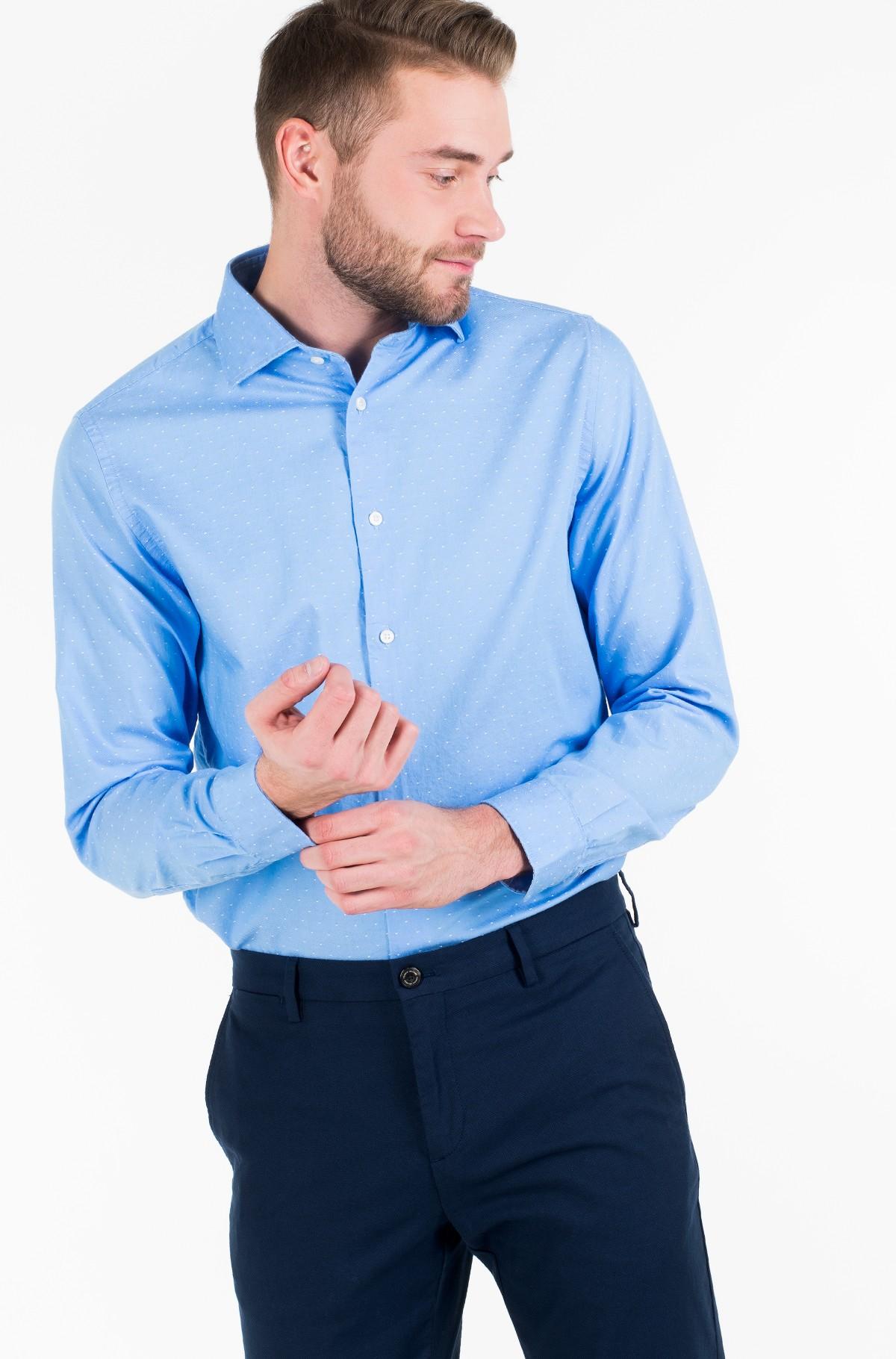 Marškiniai TWO TONE DOBBY SHIRT-full-1