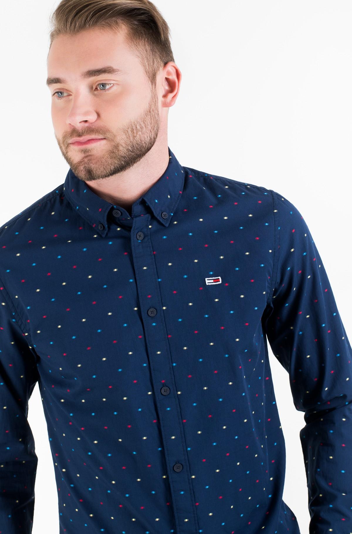 Marškiniai TJM COLORED DOBBY POPLIN SHIRT-full-1