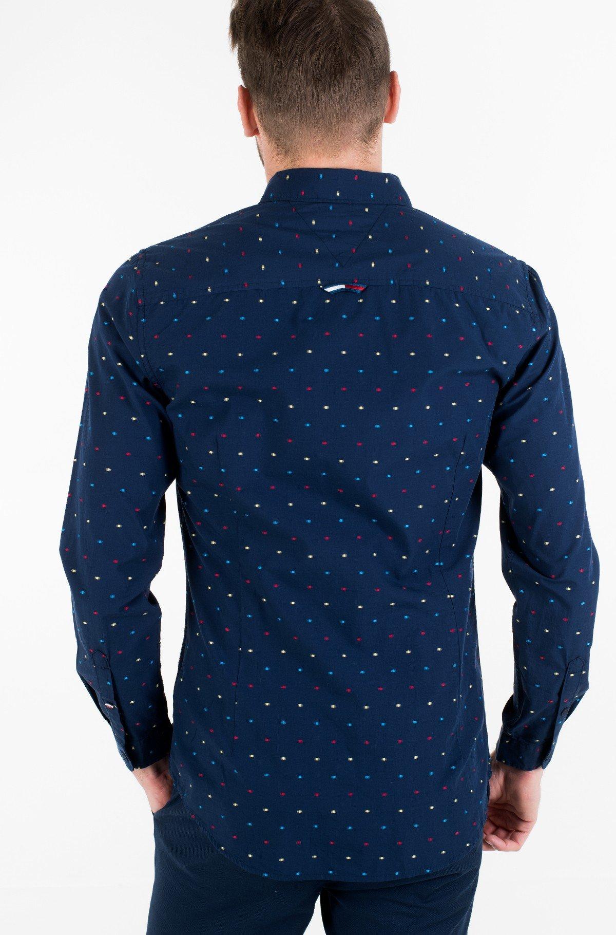 Marškiniai TJM COLORED DOBBY POPLIN SHIRT-full-3