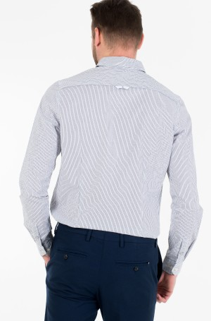 Triiksärk SLIM STRETCH STRIPE PKT SHIRT-3