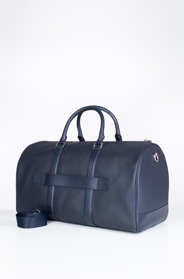 LEATHER DUFFLE STRIPE-hover