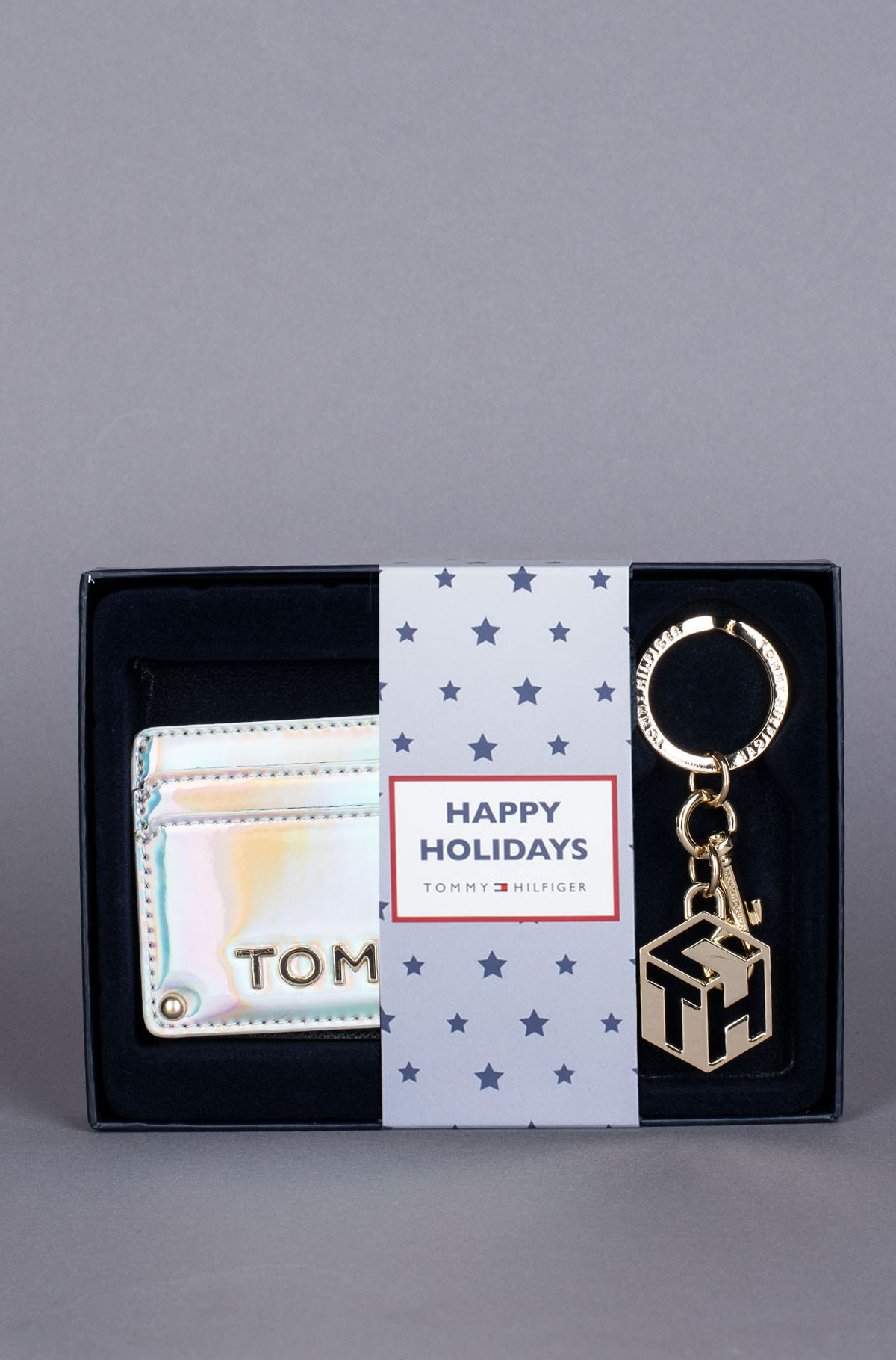 Piniginė ir raktų pakabukas dovanų dėžutėje GP TOMMY PARTY CC W KEYFOB-full-1