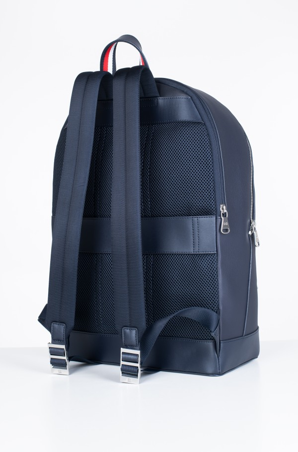 LEATHER BACKPACK STRIPE-hover