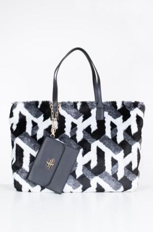 Handbag TURNLOCK TOTE FUR-1