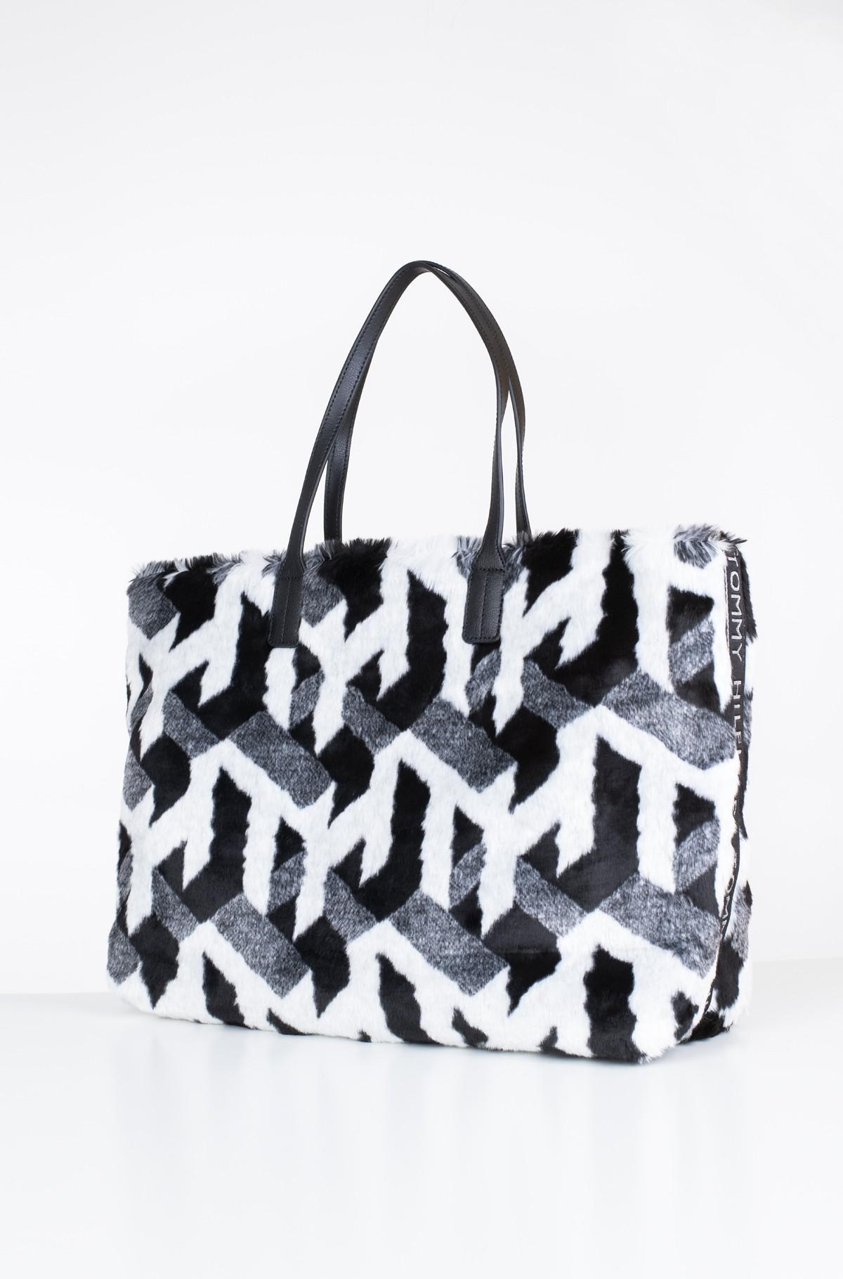 Handbag TURNLOCK TOTE FUR-full-2