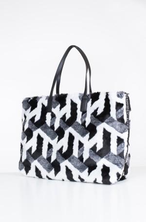 Handbag TURNLOCK TOTE FUR-2