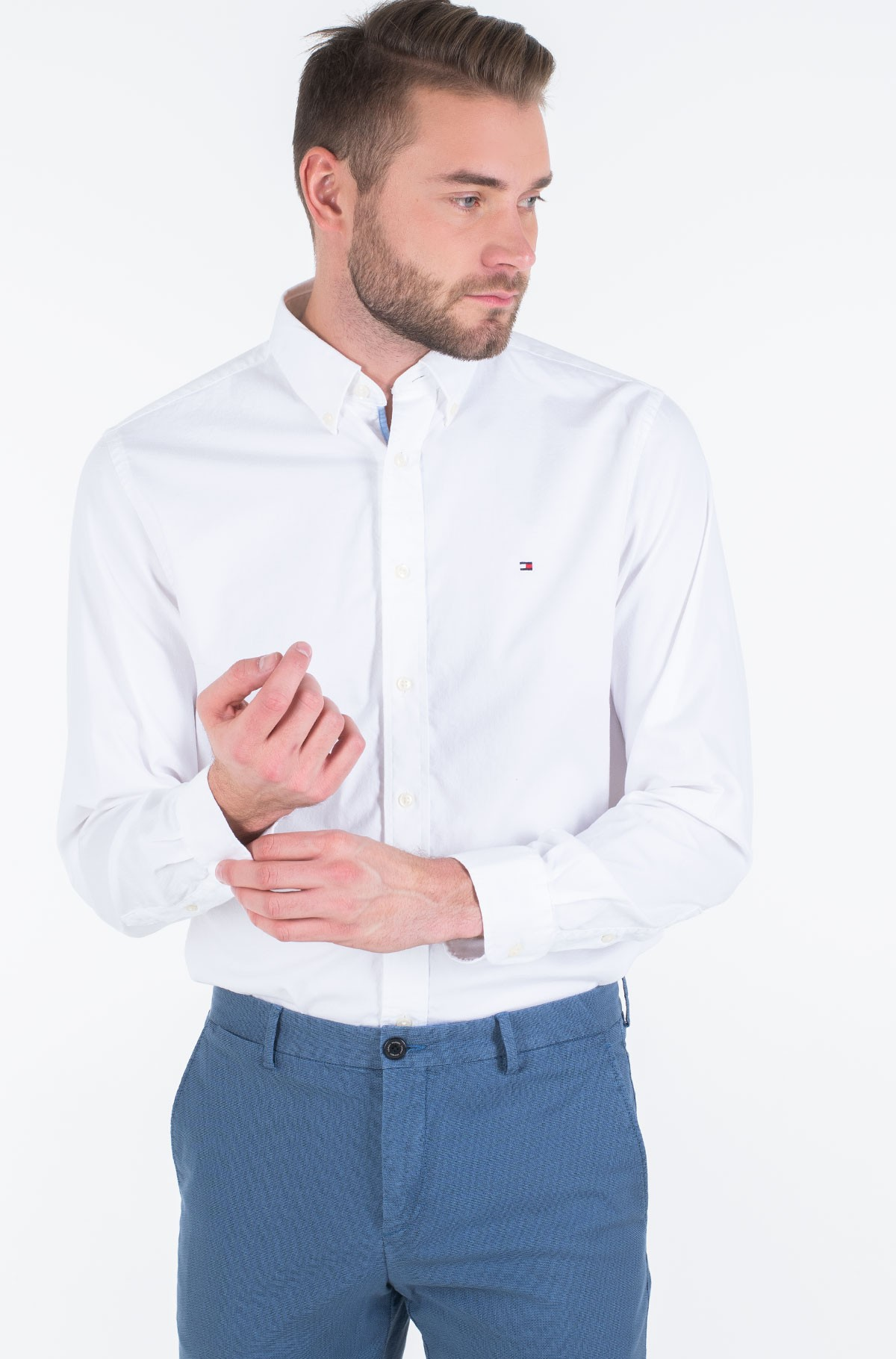 Shirt STRETCH TWILL SHIRT-full-1