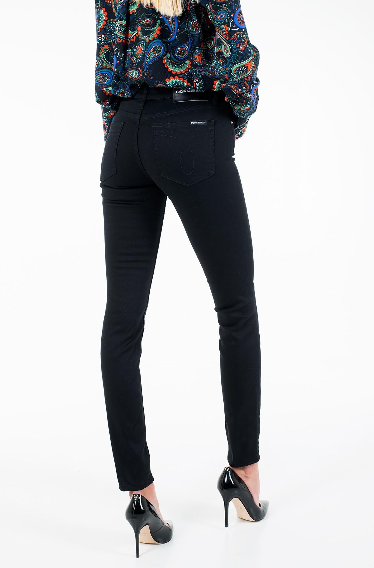 Džinsinės kelnės MID RISE SKINNY STRETCH TWILL-full-3