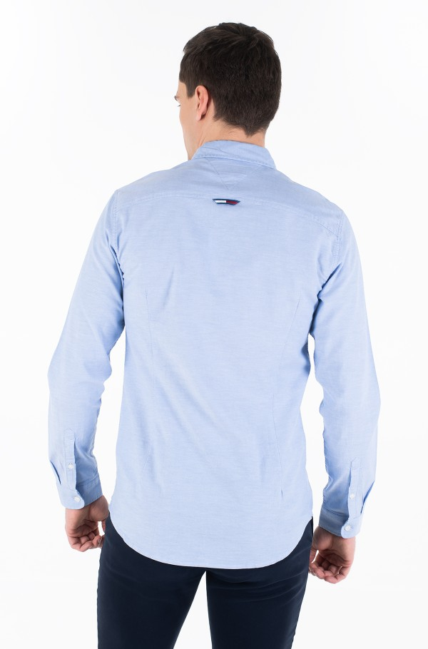 TJM STRETCH OXFORD SHIRT-hover