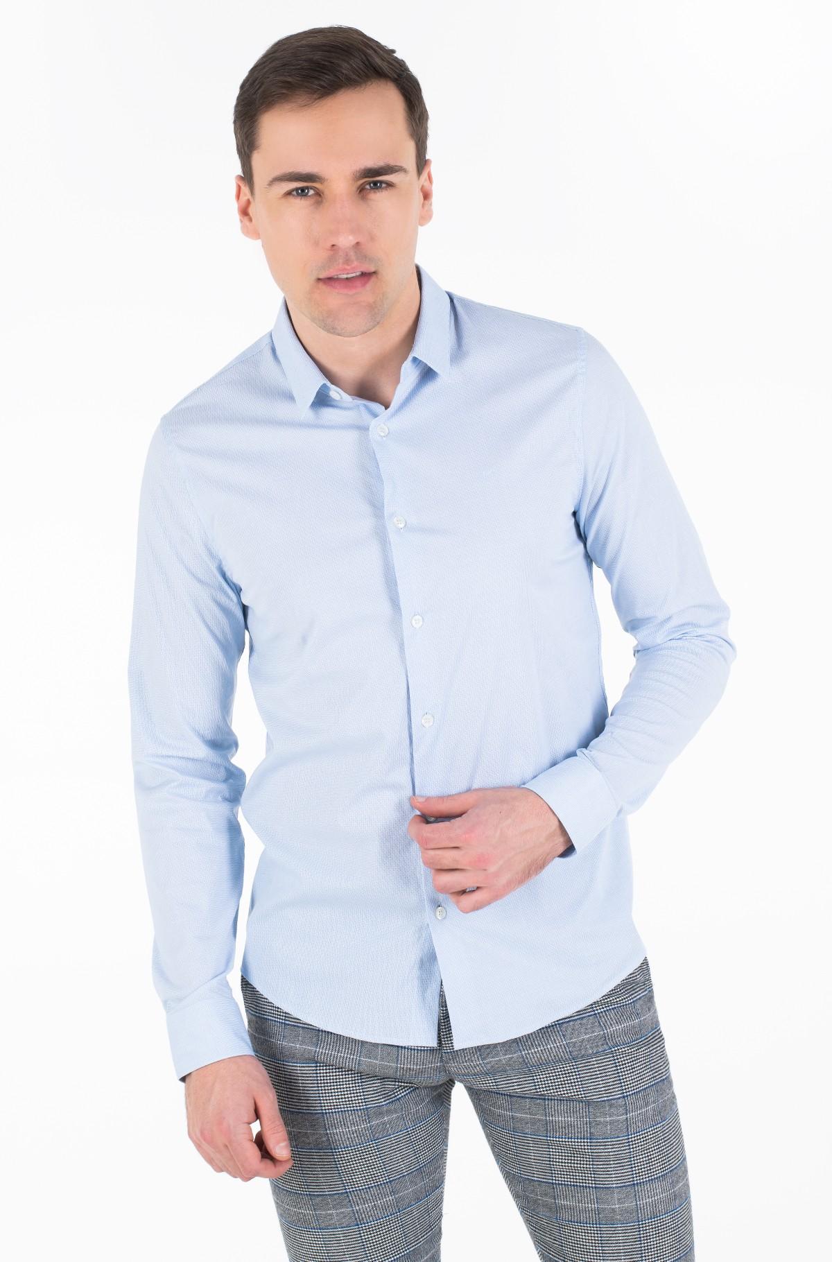 Marškiniai CK BARI DOBBY L/S SHIRT-full-1