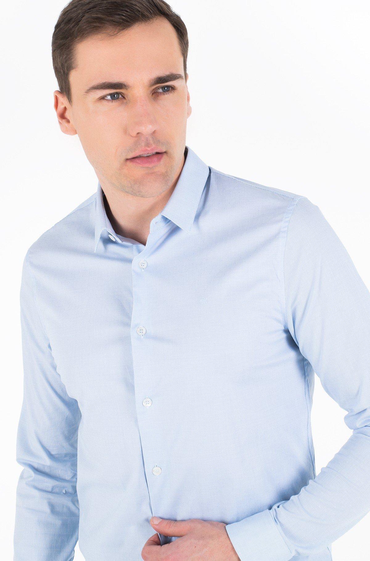 Marškiniai CK BARI DOBBY L/S SHIRT-full-2