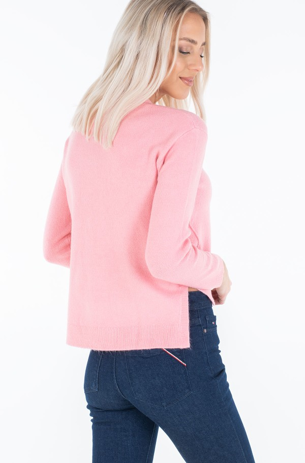 TJW SIDE STITCH DETAIL SWEATER-hover
