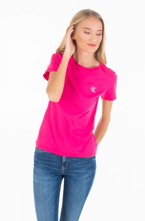 Marškinėliai CK EMBROIDERY SLIM TEE-1