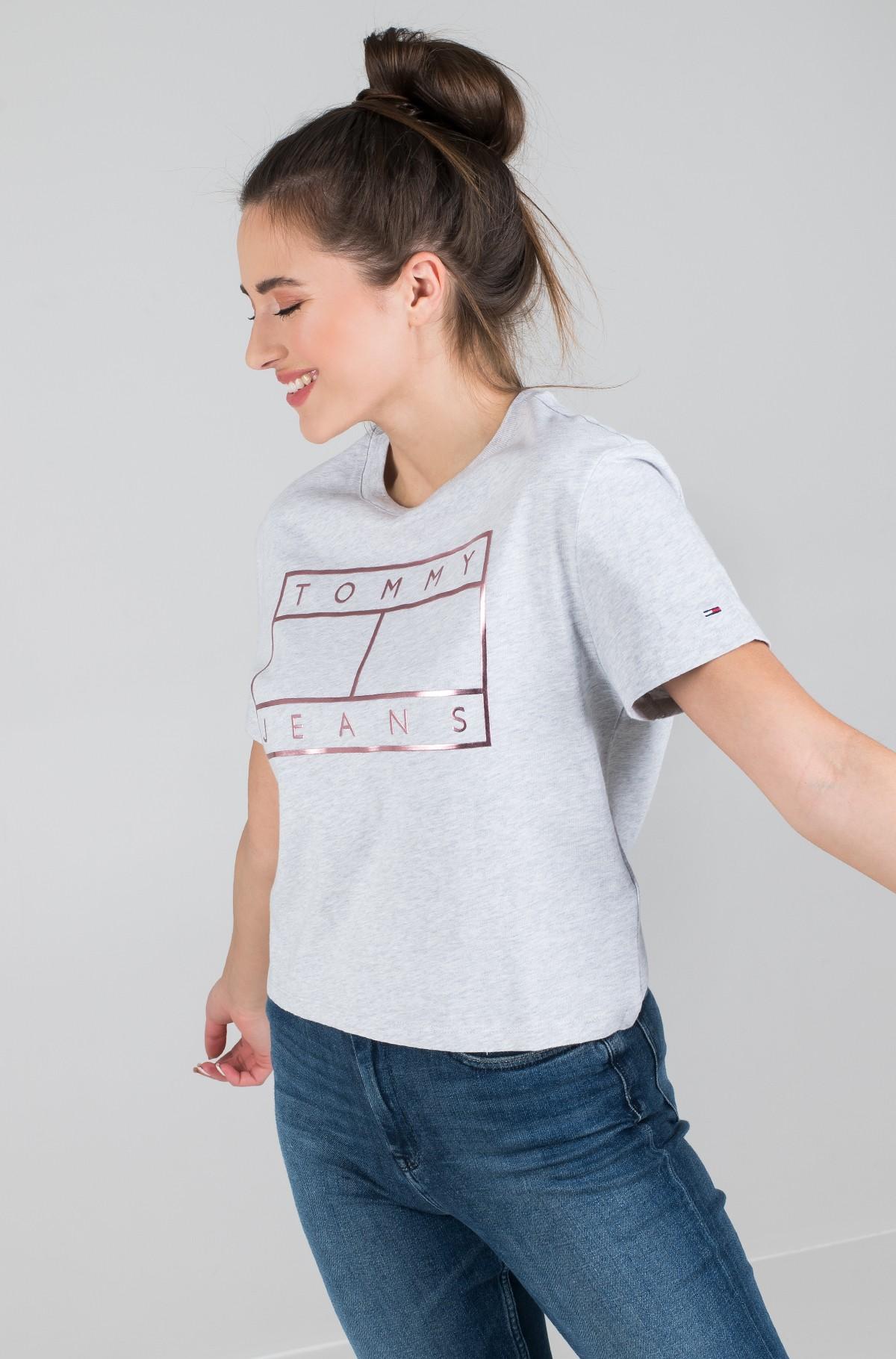 Marškinėliai TJW OUTLINE FLAG TEE-full-1