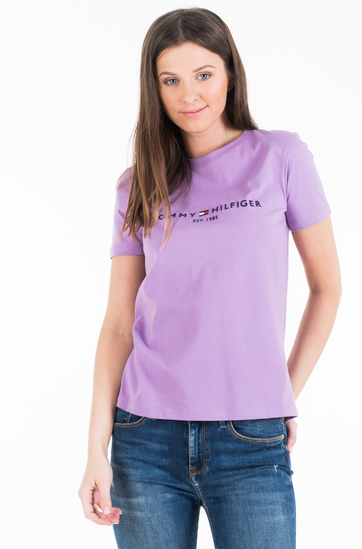 T-shirt NEW TH ESS HILFIGER C-NK TEE SS-full-2